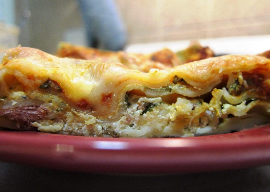 Cold Spinach and Prosciutto Lasagna